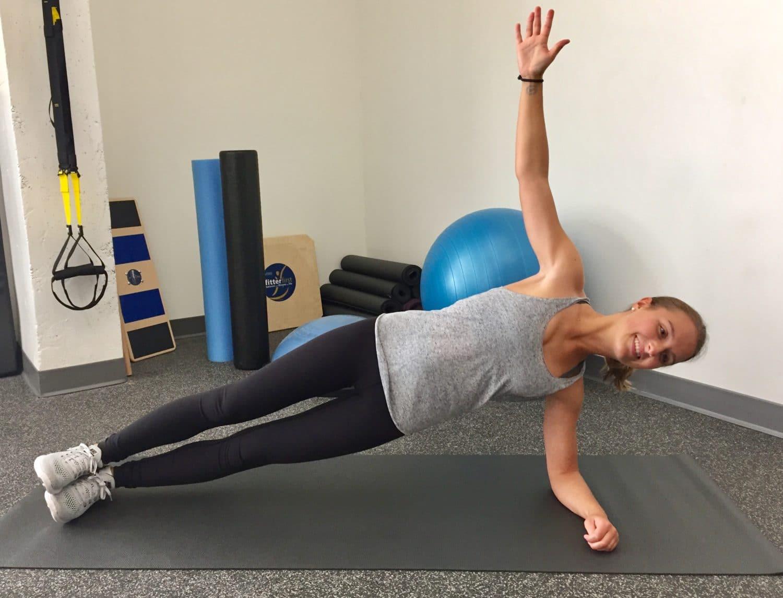 Lateral Plank Exercises Injury-Free ski season